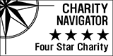 Charity Navigator - Four Star Rating