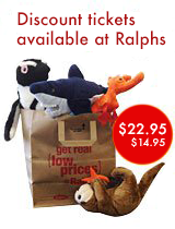 Discount Aquarium tickets available at Ralphs