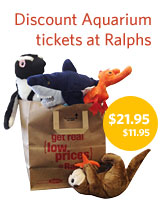 Discount Aquarium tickets at Ralphs