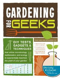 Gardening for Geeks book cover image