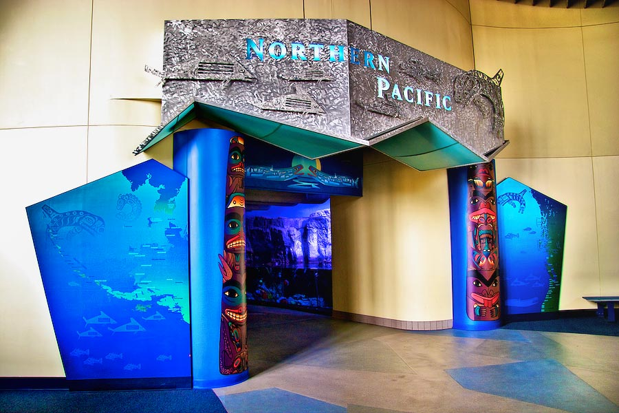 Northern Pacific Gallery entrance