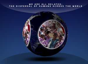 We are All Related: The Dispersal of Humans Across the World Thumbnail
