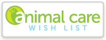 Animal Care Wishlist