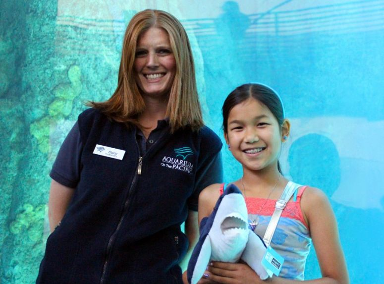 10 Year-old Girl Raises Awareness about Sharks