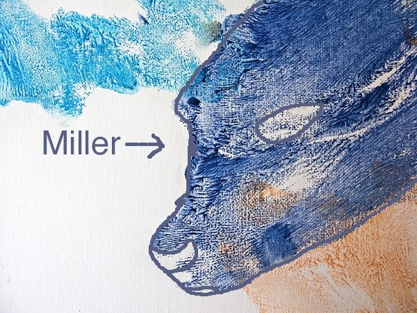 THE SURPRISE SEA FARE ARTIST IS: MILLER THE SEA LION!