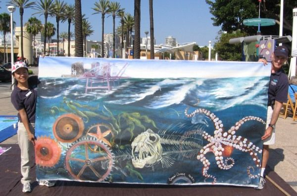 Enter the Aquarium's Urban Ocean Art, Poetry, and Fashion Contests