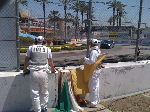 Keeping Busy During The Long Beach Grand Prix