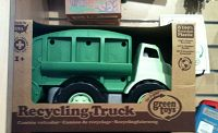 Green toy truck in gift store - thumbnail