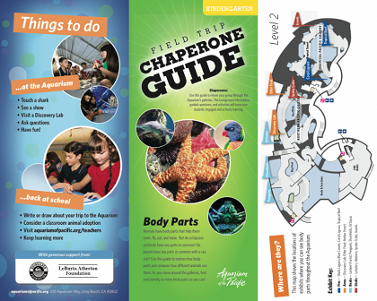 Back to School (and the Aquarium) with Chaperone Field Trip Guides