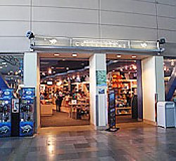 Entrance to gift store