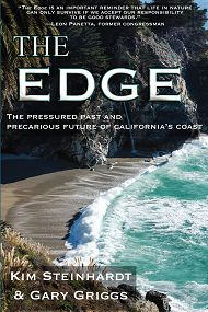 The Edge front book cover links to Ocean Experts Discuss the Future of California's Coast and Their New Book, The Edge