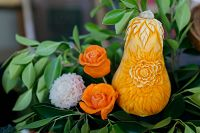 Thai fruit carving - thumbnail