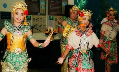 Dancers perform at Southeast Asia Day