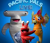 Pacific Pals Live! puppet characters