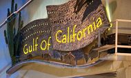 Gulf of California sign