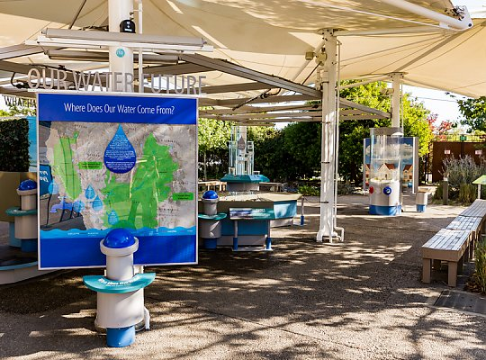 Our Water Future exhibit - slideshow