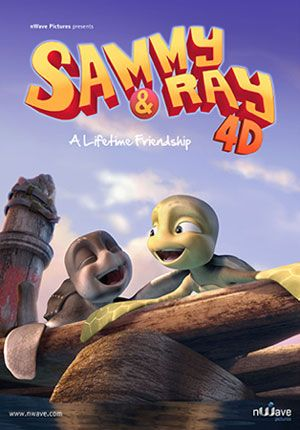 Sammy & Ray 4D movie poster - lightbox