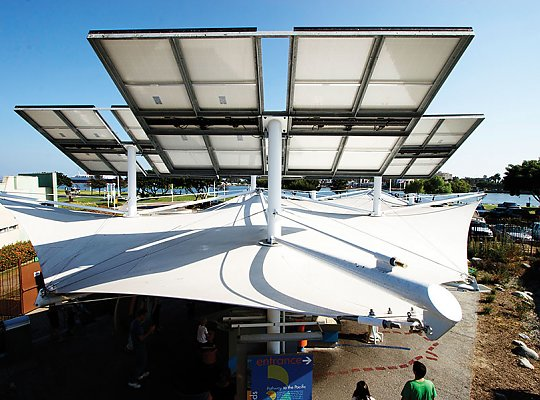 Watershed solar panels - slideshow
