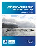Report Cover links to Offshore Aquaculture in the Southern California Bight