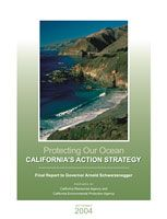 Report Cover links to Protecting Our Ocean: California's Action Strategy