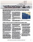 Report front page links to Coastal & Marine Spatial Planning (CMSP) in the Southern California Bight
