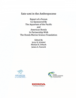 Sato-umi in the Anthropocene Cover