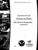 Report Cover links to Forum on Ports