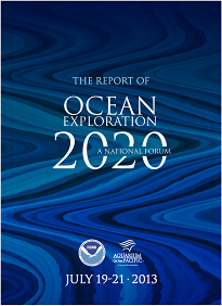 The Report of Ocean Exploration 2020: A National Forum