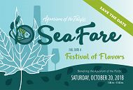 Sea Fare 2018 postcard links to Buy Tickets