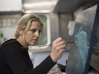 View Artwork Inspired by Science Expeditions at Sea