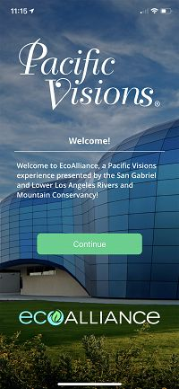 EcoAlliance home screen - thumbnail