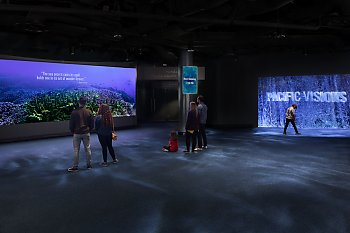 Orientation Gallery with Visitors - popup