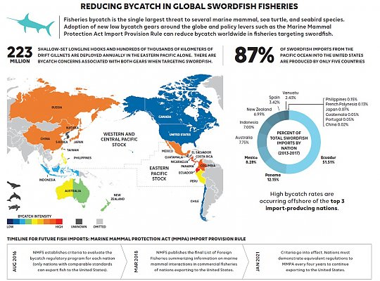 Gearing up to Reduce Global Bycatch graphic - slideshow