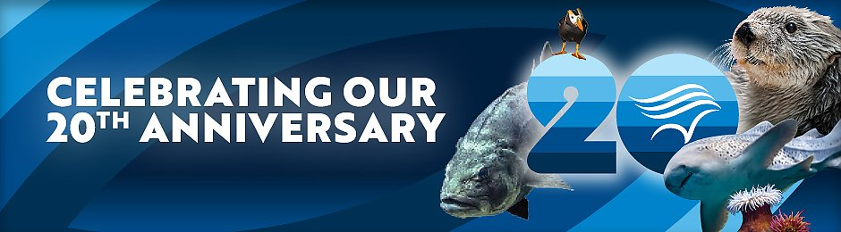 Celebrating the Aquariums 20th - banner
