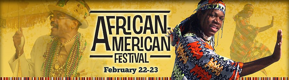 African American Festival on February 22 and 23 - banner