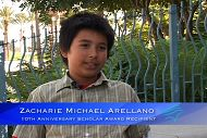 September Student Scholar: Zacharie Arellano
