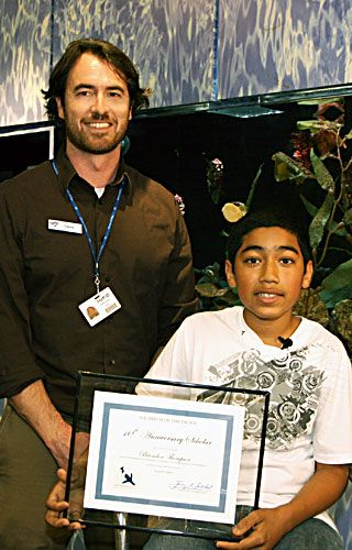 Aquarium of the Pacific Announces Brendon Thompson as its January 10th Anniversary Scholar