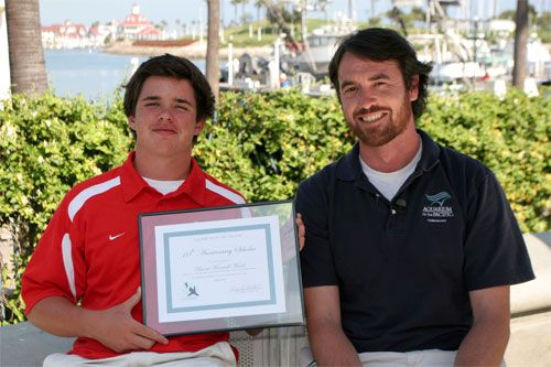 Aquarium of the Pacific Announces Brent Maxwell Ward as its May 10th Anniversary Scholar