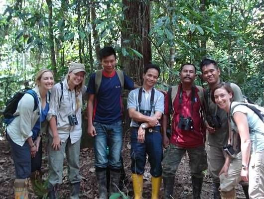 Aquarium Educator Visits Conservation Projects in Borneo