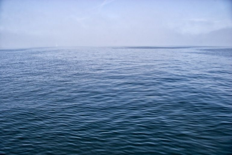 Surface of the Big Blue Ocean