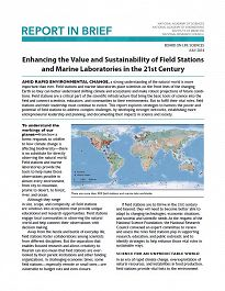 Enhancing the Value and Sustainability of Field Stations and Marine Laboratories in the 21st Century