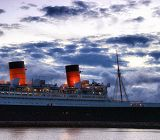 Queen Mary at sundown