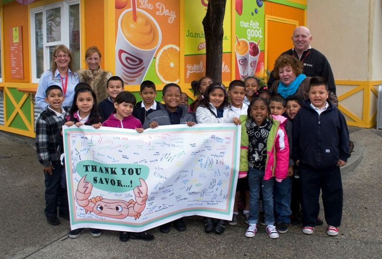 SAVOR…Long Beach 2012 Scholarship Provides Aquarium Visits for 400 Schoolchildren