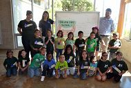 Students Visit the Aquarium During the Grand Prix on Scholarship from SAVOR…Long Beach