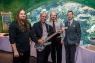 Aquarium Security Officers Build Custom Guitar for Sea Fare