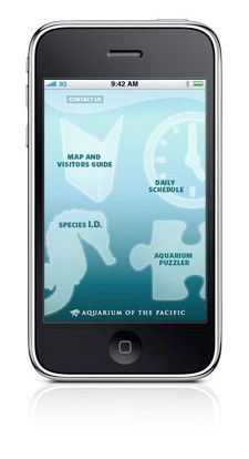Aquarium of the Pacific Visitor Guide App for the iPhone and iPod Touch