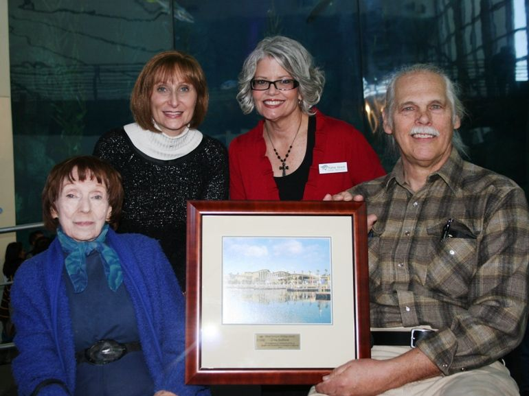 Aquarium Honors Zina Bethune at Festival of Human Abilities
