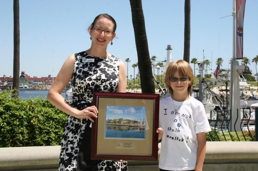 8-Year-Old Wyatt Workman Receives Aquarium's Young Hero Award