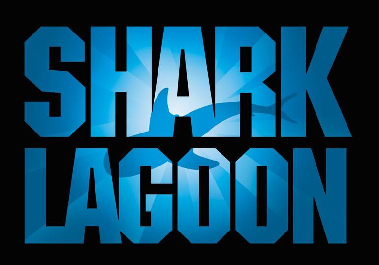 Shark Lagoon logo - lightbox