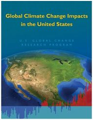 Report Cover links to Global Climate Change Impacts in the United States